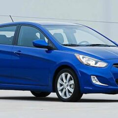 New Hyundai Accent hatchback