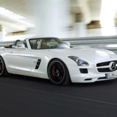 Mercedes-Benz SLS AMG Roadster revealed