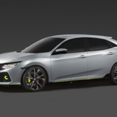 2017 Honda Civic hatchback prototype revealed
