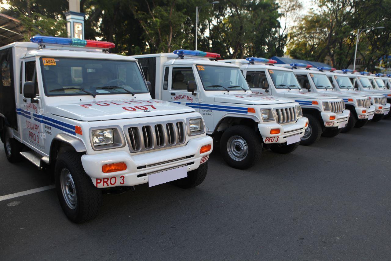 PNP Patrol Jeep Mahindra Enforcer