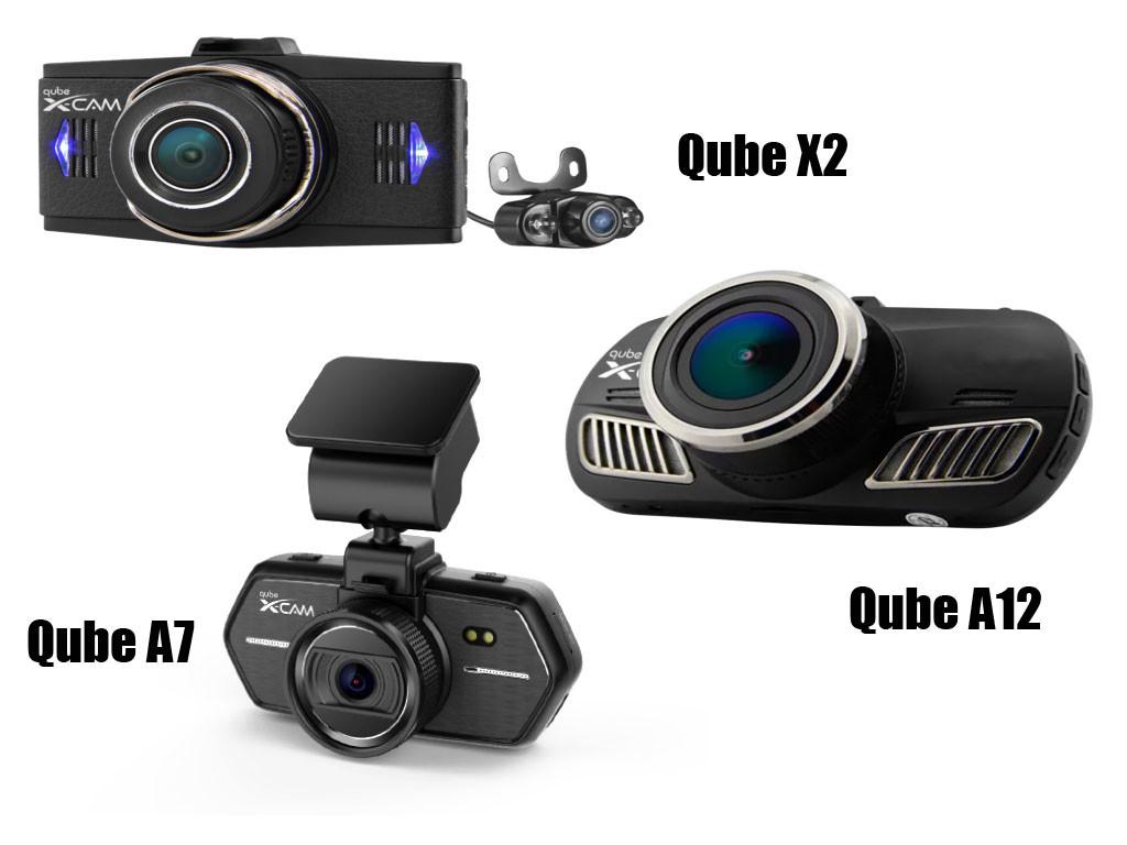 Qube Dashcam A7 A12 X2