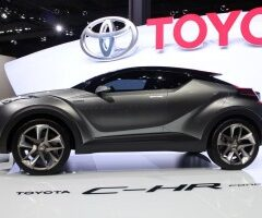 Toyota C-HR compact crossover looks promising
