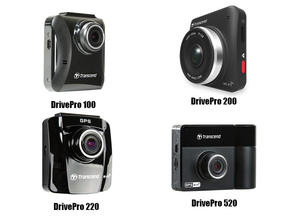 Transcend Dashcam DrivePro 100 200 220 520