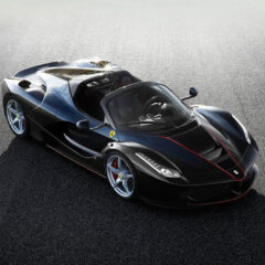 Ferrari LaFerrari Aperta unveiled