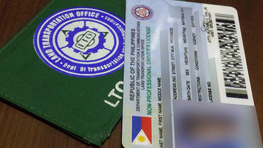 LTO Driver's License